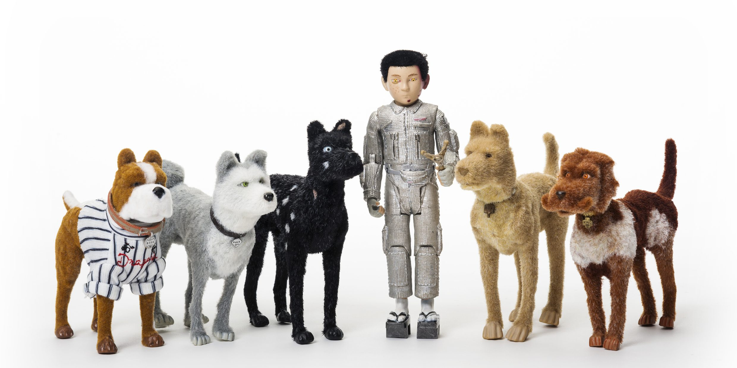 Collectible Isle Of Dogs Toys Released With Wes Anderson Film