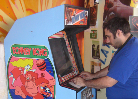 Donkey Kong at the Alamo